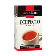 "Кава мелена Bank of Coffee ""Espresso Classic"" 240 г"