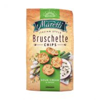 Гренки Bruschette Sour cream & Onion Maretti 70 г