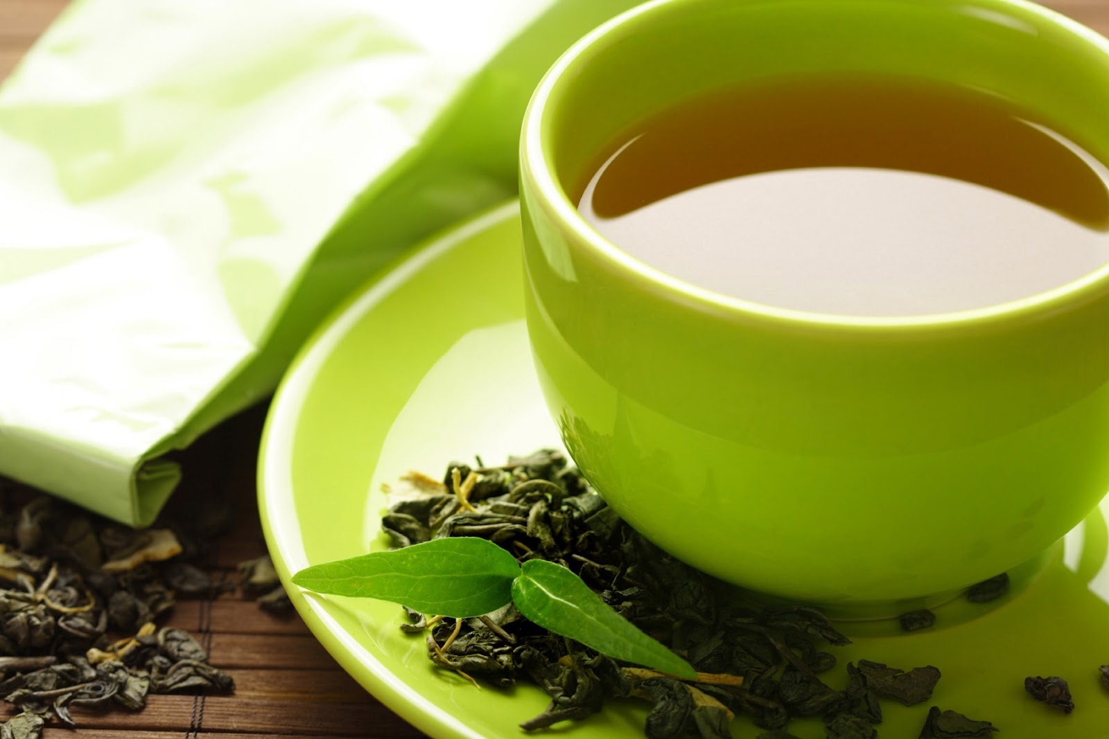 Зеленый чай - натуральный энергетический напиток